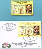 Uruguay 2019 ** HB Y SPD 150 Años Nacimiento Mahatma Gandhi. - Mahatma Gandhi