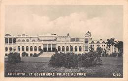 INDIA - CALCUTTA - LT GOVERNOR'S PALACE, ALIPORE ~ AN OLD POSTCARD #99614 - India