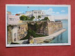 Governor's Palace Old City Wall & Gate  San Juan Puerto Rico Ref 3759 - Puerto Rico