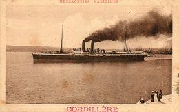 LE CORDILLERE  Messageries Maritimes - Steamers