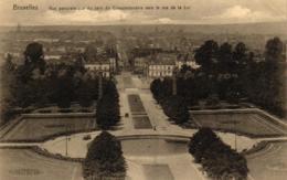 Brüssel, Bruxelles, Vue Panoramique Du Parc Du Cinquantenaire, Um 1916 - Parks, Gärten