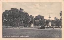 INDIA - CALCUTTA - ORCHID HOUSE, EDEN GARDENS ~ AN OLD POSTCARD #99605 - India