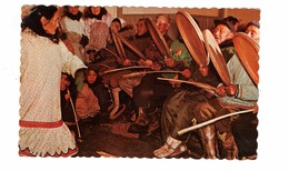 Arctic, NWT?, Canada, Eskimo Dance, 1968 Chrome Postcard - Nunavut