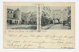Gruss Aus Bonn Heinrick Ladenschilder  1898y.  D259 - Bonn