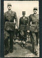 CPSM Format CPA - Les Généraux DE GAULLE, LERCLERC Et KOENIG - Guerre 1939-45