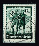 DR 1938,Michel# 663 O Volksabstimmung In Österreich - Oblitérés