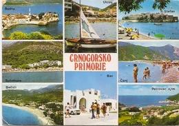 Crnogorsko Primorje -traveled -FNRJ - Montenegro