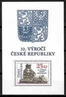 Czech Republic 2003 Chequia / 10th Anniversary Czech Republic MNH 10 Años De La República Checa / Cu14301  34-7 - Czech Republic