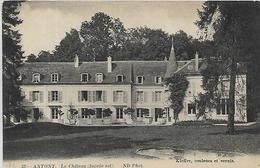 92, Haut De Seine, ANTONY, Le Chateau, Scan Recto Verso - Antony