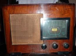 Ancien Poste Radio TSF à Lampes (années 1930-40) - Appareils
