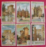 6 Chromo Liebig. Portes De Ville Historiques. 1908. S 943. Chromos. édition Française - Liebig