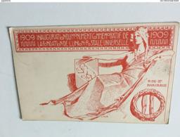 CF - 3 - 1909 - Inauguration Du Monument Commémoratif De La Fondation De L'Union Postale Universelle - Post
