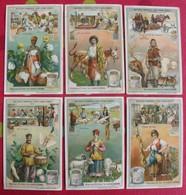 6 Chromo Liebig. Matières Premières Pour L'habillement. 1907. S 900. Chromos. édition Française - Liebig