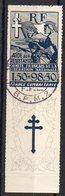 CG N° 65 Oblitéré (avec Gomme) CaD Militaire Des FFL Du 29.05.1943 - France (ex-colonies & Protectorats)