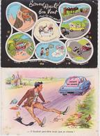 Lot De 18 Cartes ( Humour ) - Postkaarten