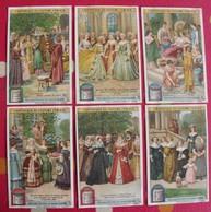 6 Chromo Liebig. L'historique Du Costume Féminin. 1907. S 886. Chromos. édition Française - Liebig