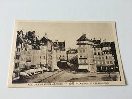 CF - 3 - Le Strasbourg Disparu - Rue Des Grandes Arcades 1868 - Strasbourg