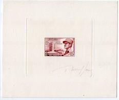 Algérie N° 338 (Général Leclerc) - Epreuve D'artiste Signée Du Graveur Raoul Serres - Algérie (1924-1962)