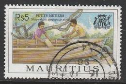 Mauritius 1997 Trade 5 R Multicoloured SW 865 O Used - Mauritius (1968-...)