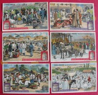 6 Chromo Liebig. Foires Et Marchés. 1907. S 894. Chromos. édition Française - Liebig