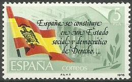 Spain - 1978 New Constitution 5p MNH **  SG 2555   Sc 2133 - 1931-Aujourd'hui: II. République - ....Juan Carlos I