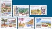 Russia 2003 Russian Regions Region Lanscape European Geography Places Nature View Lake Sea MNH Ru 822-827 - 1992-.... Federation