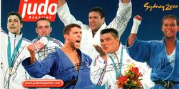 JUDO Médaillés Des Jeux De Sydney - Martiaux