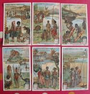 6 Chromo Liebig. îles Du Groupe De La Nouvelle-Guinée. 1909. S 963. Chromos. édition Française - Liebig