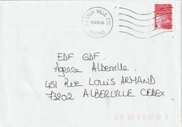 """Env. De """"Lyon Ville CTC - 69, Rhône"""" Du 16-06-1999, Sur YT 3085 - Annullamenti Meccaniche (Varie)"""