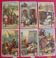 6 Chromo Liebig. L'art Chez Les Différents Peuples. 1907. S 880. Chromos. édition Française - Liebig