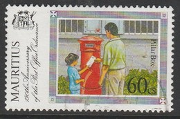 Mauritius 1996 The 150th Anniversary Of The Post Office Ordinance 60 C Multicoloured SW 845 O Used - Mauritius (1968-...)