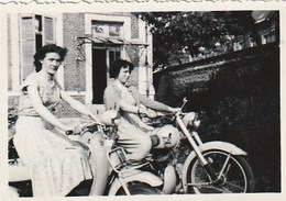 PHOTO -femmes Sur Moto - Motorbikes
