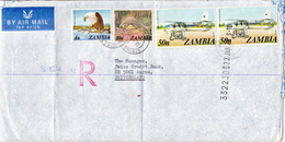 Postal History Cover: Zambia Cover - Zambia (1965-...)