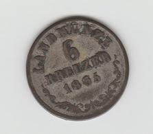 6 KREUZER ARGENT SAXE MEININGEN 1835 BERNARD II - [ 1] …-1871: Altdeutschland