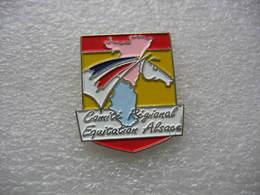 Pin's Du Comité Régional D'Equitation D'Alsace - Associations