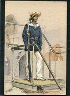 CPA - Illustration Maurice Toussaint - Fusilier Marin (Tonkin) - 1884 - Guerre