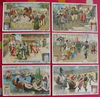 6 Chromo Liebig. Scènes De Carnaval. 1910. S 986. Chromos. édition Française - Liebig