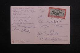 EGYPTE - Oblitération Du Congrès Internationale Des Cotonniers Du Caire En 1927 Sur Carte Postale Pour Paris - L 49004 - Egypt