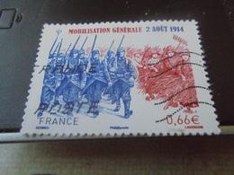 MOBILISATION GENERALE 2 AOUT 1914 (2014) - Usati