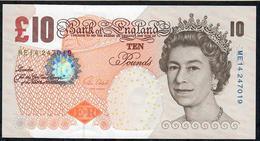 GREAT BRITAIN   P389e 10 POUNDS  2014  #ME14   CLELAND UNC. - 1952-… : Elizabeth II