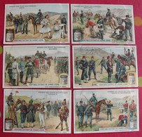 6 Chromo Liebig. Armées Des états Balcaniques. 1910. S 983. Chromos. édition Française - Liebig