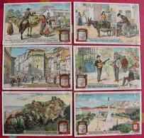 6 Chromo Liebig. Au Portugal. 1910. S 1004. Chromos. édition Française - Liebig