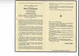DP 8948 - JULIE CASTELEYN - HALLUIN 1887 + MENEN 1952 - Images Religieuses