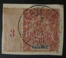 Guyane - YT 470 Sur Fragment - Usados
