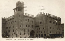 BOLOGNA - PALAZZO DEL RE ENZO (ed. Traldi ) - FORMATO PICCOLO - VIAGGIATA - (rif. Q45) - Bologna