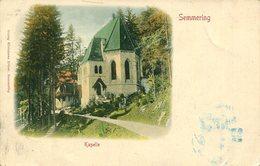 Semmering - Kapelle  1899  (007769) - Semmering
