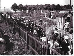 Cpm Paris 12è - Le Ministre De L'Agriculture Visite Les Jardins Potagers Dans Les Fortifications De Bercy(juillet 1917). - Arrondissement: 12