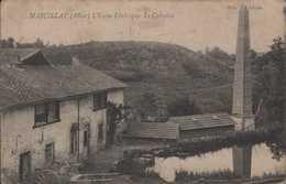 Marcillat L'Usine Electrique  Le Calvaire - Andere Gemeenten