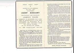DP 8950 - JOZEF BOSSANT -ADINKERKE 1899 + 1959 - OUDSTRIJDER 1914-1918 - 1914-18