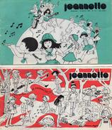 SCOUTISME  -  28 REVUES  Bimensuelles -  JEANNETTE  -  Années 1975 - 1976 -  Revues De Soutisme De Jeunes Filles - Livres, BD, Revues